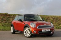 2010 MINI HATCH COOPER 1.6 COOPER 3d 122 BHP £SOLD