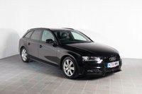 2015 AUDI A4 1.8 AVANT TFSI S LINE BLACK EDITION NAV 5d AUTO 168 BHP £15982.00