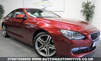 USED 2012 BMW 6 SERIES 640d SE 2dr