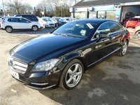 USED 2013 13 MERCEDES-BENZ CLS CLASS 2.1 CLS250 CDI BLUEEFFICIENCY 4d AUTO 204 BHP