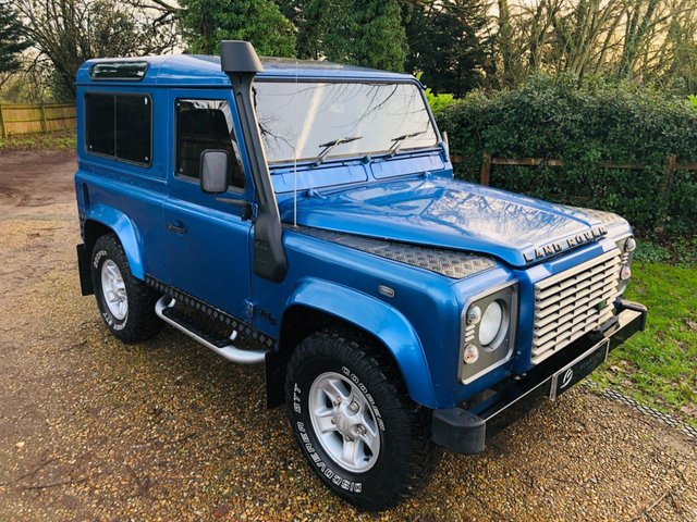 2000 LAND ROVER DEFENDER 2.5 90 COUNTY S/W TD5 120 BHP