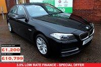 USED 2015 15 BMW 5 SERIES 2.0 520D SE 4d 188 BHP +ONE OWNER +5 STAMP FSH.