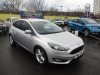 USED 2016 16 FORD FOCUS 1.5 ZETEC TDCI 5d 118 BHP WAS £10,295 NOW ONLY £9,795 !!