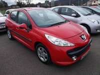 USED 2009 09 PEUGEOT 207 1.4 VERVE 5d 74 BHP Just arrived in stock, FSH