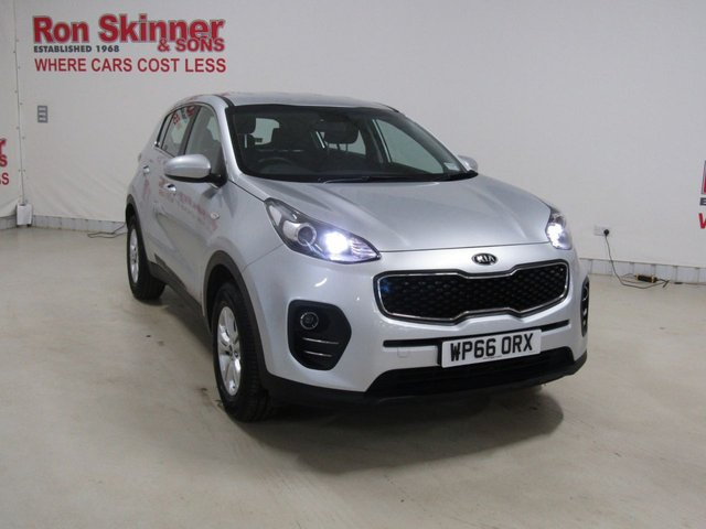 View our 2016 66 KIA SPORTAGE 1.6 1 5d 130 BHP