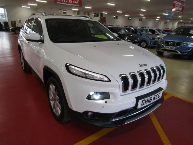 View our 2016 16 JEEP CHEROKEE 2.2 M-JET II LIMITED 5d AUTO 197 BHP