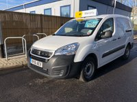 USED 2016 16 PEUGEOT PARTNER 1.6 HDI CRC 1d 92 BHP All Vehicles with minimum 6 months Warranty, Van Ninja Health Check and cannot be beaten on price!