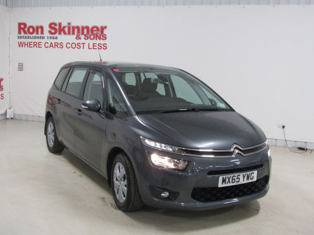 View our 2015 65 CITROEN C4 GRAND PICASSO 1.6 BLUEHDI EXCLUSIVE 5d AUTO 118 BHP
