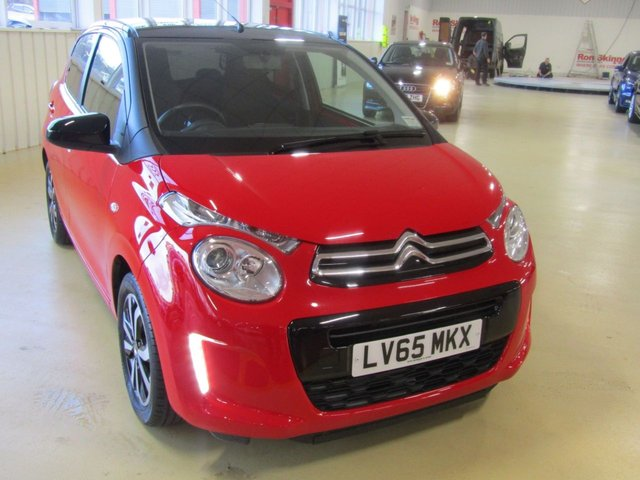View our 2015 65 CITROEN C1 1.0 FLAIR S/S 5d 68 BHP