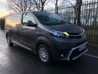 USED 2018 67 TOYOTA PROACE 1.6 L1 COMFORT 1d 94 BHP All Vehicles with minimum 6 months Warranty, Van Ninja Health Check and cannot be beaten on price!