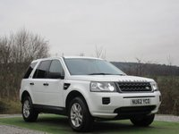 USED 2013 62 LAND ROVER FREELANDER 2.2 TD4 BLACK AND WHITE 5d 150 BHP