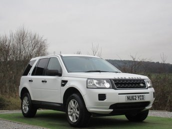 2013 LAND ROVER FREELANDER 2.2 TD4 BLACK AND WHITE 5d 150 BHP £10990.00