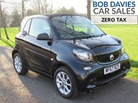 USED 2017 67 SMART FORTWO 1.0 PASSION 2d AUTO 71 BHP