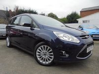 USED 2013 13 FORD GRAND C-MAX 2.0 TITANIUM TDCI 5d 138 BHP TOP SPEC, FSH
