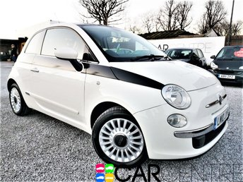 View our 2010 10 FIAT 500 1.2 LOUNGE 3d 69 BHP