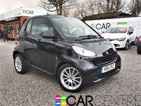 USED 2011 11 SMART FORTWO CABRIO 1.0 PASSION MHD 2d AUTO 71 BHP SAT NAV + FULL ELECTRIC ROOF