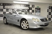 USED 2003 03 MERCEDES-BENZ SL 3.7 SL350 2d AUTO 245 BHP OCTOBER 2019 MOT & EXTENSIVE SERVICE RECORDS, Beautifully Presented in Tellur Silver. Command with Navigation