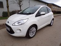 USED 2009 59 FORD KA 1.2 ZETEC 3d 69 BHP AIR CON ONLY 40,000 MILES PART EXCHANGE AVAILABLE / ALL CARDS / FINANCE AVAILABLE