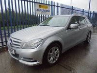 USED 2014 14 MERCEDES-BENZ C CLASS 2.1 C220 CDI SE (Executive) 7G-Tronic Plus 5dr Full Mercedes Service History