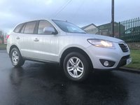 2010 HYUNDAI SANTA FE 2.2 CRDI 7 SEATS 4X4 86000 MILES VERY WELL LOOKED AFTER CAR  £6995.00