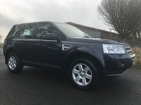 2010 LAND ROVER FREELANDER 2.2 TD4 GS 4x4 full Land Rover service history lower tax model  £8295.00