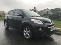 2009 TOYOTA URBAN CRUISER 1.3 VVT-I 5 DOOR 1 OWNER 47000 MILES 10 SERVICES  £4295.00