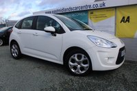 2012 CITROEN C3 1.4 WHITE 5d 72 BHP PETROL  £4190.00