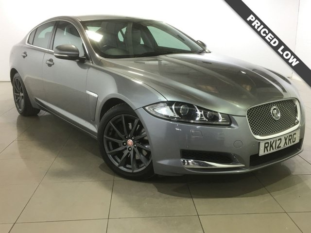 View our 2012 12 JAGUAR XF 3.0 V6 PREMIUM LUXURY 4d AUTO 240 BHP