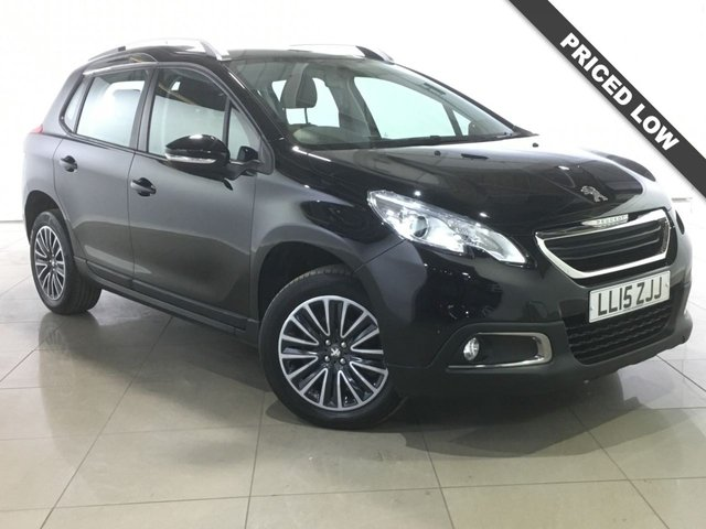 View our 2015 15 PEUGEOT 2008 1.2 S/S ACTIVE 5d AUTO 82 BHP
