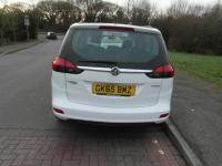 USED 2015 65 VAUXHALL ZAFIRA TOURER 1.4i 16v Turbo 140ps Exclusiv Petrol 7 seat White BAD CREDIT FINANCE / LOW RATE FINANCE / PART EXCHANGE