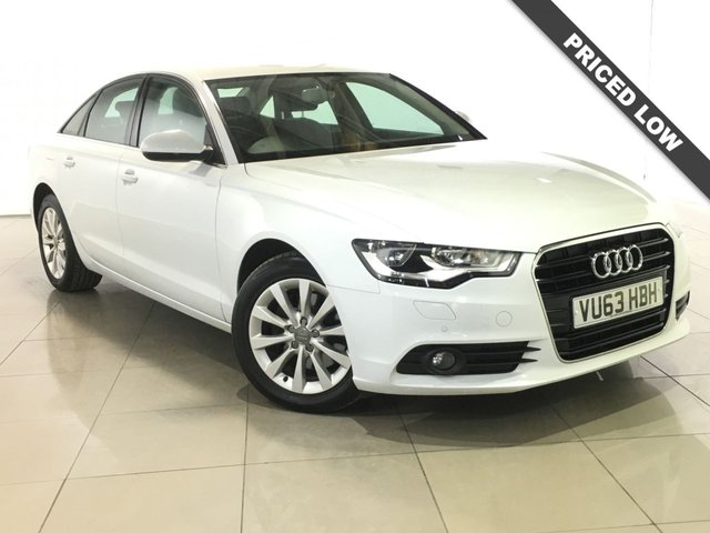 View our 2013 63 AUDI A6 2.0 TDI SE 4d 175 BHP