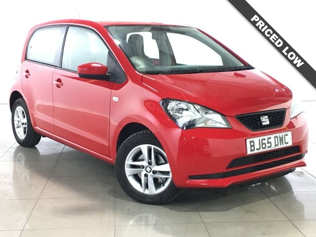 View our 2015 65 SEAT MII 1.0 SE 5d AUTO 74 BHP