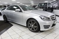 USED 2014 14 MERCEDES-BENZ C CLASS C250 CDI AMG SPORT EDITION AUTO 202 BHP MERCEDES MAIN DEALER HISTORY!