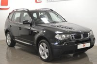 USED 2005 05 BMW X3 2.0 D SPORT 5d 148 BHP BLACK LEATHER + SERVICE HISTORY + PART EX WELCOME