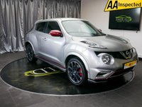 USED 2015 65 NISSAN JUKE 1.6 NISMO RS DIG-T 5d 215 BHP £0 DEPOSIT FINANCE AVAILABLE, AIR CONDITIONING, AUX INPUT, BLUETOOTH CONNECTIVITY, CLIMATE CONTROL, CRUISE CONTROL, DAB RADIO, DAYTIME RUNNING LIGHTS, KEYLESS START, REVERSE CAMERA, SATELLITE NAVIGATION, STEERING WHEEL CONTROLS, TRIP COMPUTER, USB CONNECTION