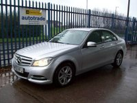 2013 MERCEDES-BENZ C CLASS 2.1 C220 CDI SE (Executive) 7G-Tronic Plus 4dr £11000.00