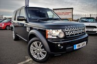 2013 LAND ROVER DISCOVERY 3.0 4 SDV6 COMMERCIAL 5DR AUTO 255 BHP £15995.00