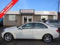 USED 2010 L MERCEDES-BENZ C CLASS 2.2 C220 CDI BLUEEFFICIENCY SE 4DR AUTOMATIC DIESEL 170 BHP