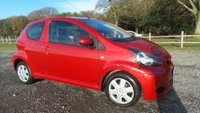 USED 2011 11 TOYOTA AYGO 1.0 VVT-I ICE 3d 68 BHP 2 X KEYS, LOW ROAD TAX, SUPERB MPG, LOW INSURANCE, IDEAL FOR 1ST DRIVER, HALF LEATHER TRIM, REMOTE LOCKING, AIR-CONDITINING, ELECTRIC WINDOWS, ABS, CD-PLAYER, METALLIC PAINT