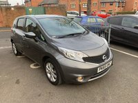 USED 2015 65 NISSAN NOTE 1.2 ACENTA DIG-S 5d AUTO 98 BHP £30 ROAD TAX! CHEAP TO RUN! FULL SERVICE HISTORY! HIGH SPEC WITH PARKING SENSORS, ALLOY WHEELS AND PRIVACY GLASS!