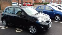 USED 2015 15 NISSAN MICRA 1.2 VISIA 5d 79 BHP £30 ROAD TAX! ONLY 7747 MILES! CHEAP TO RUN MANUAL VISIA!