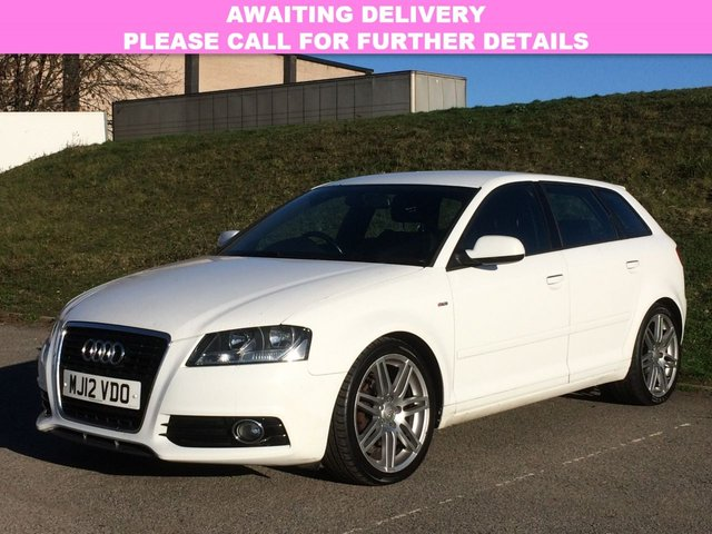 View our 2012 12 AUDI A3 2.0 SPORTBACK TDI S LINE 5d 138 BHP