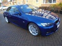 2008 BMW 3 SERIES 2.0 320I M SPORT 2d AUTO Convertible 168 BHP £7995.00