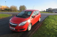 2015 VAUXHALL MERIVA 1.4 S A/C 1 Owner,Superb Condition,F.S.H £5495.00
