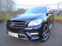 2013 MERCEDES-BENZ M CLASS 3.0 ML350 BLUETEC AMG SPORT 5d AUTO 258 BHP £19750.00