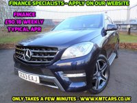 2013 MERCEDES-BENZ M CLASS 3.0 ML350 BLUETEC AMG SPORT 5d AUTO 258 BHP £18995.00
