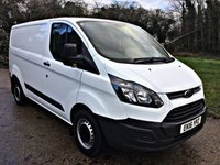 2016 FORD TRANSIT CUSTOM 2.2 290 LIMITED LR P/V 1d 124 BHP £9950.00