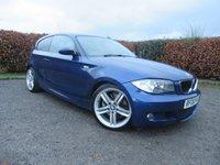 USED 2008 08 BMW 1 SERIES 2.0 123D M SPORT 3d  * 12 MONTHS MOT & RECENT SERVICE * RARE SPORTS MODEL *