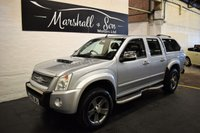 USED 2009 59 ISUZU RODEO 3.0 TD DENVER MAX LE 1d AUTOMATIC 161 BHP NO VAT - 10 STAMPS TO 104K - NOT VAT - LOVELY CONDITION