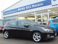 2015 VAUXHALL ASTRA 1.4 Turbo SRi 5dr 150ps (New model) £9695.00